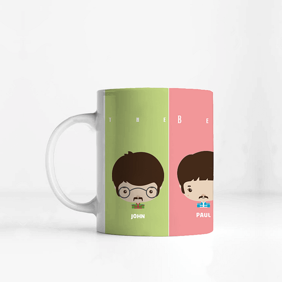 Taza The Beatles