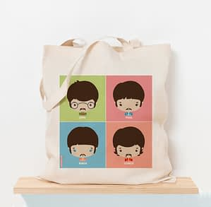 Totebag The Beatles