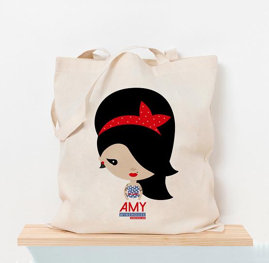 Totebag Amy Winehouse