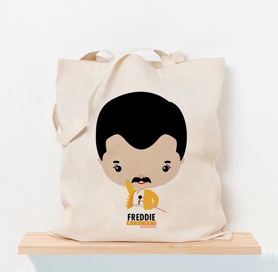Totebag Freddie Mercury